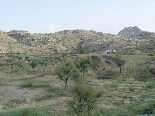 Landschaft in Rajasthan.
