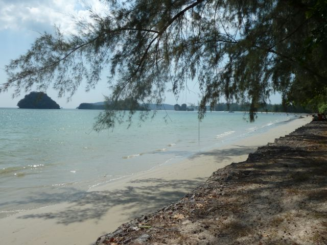 Der Noppharat-Beach in Ao Nang.