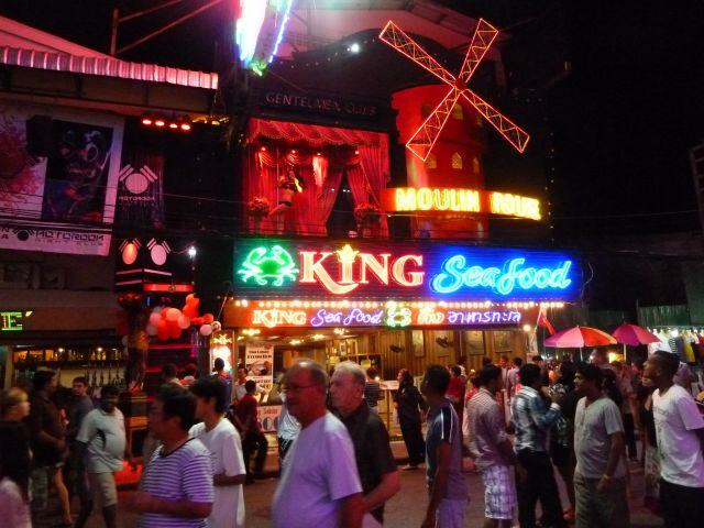 Das Moulin-Rouge in Pattaya.